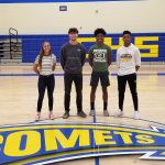 Four Comets Set to Compete at State Track Meet
