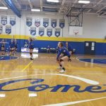 MS Volleyball Teams Do Well in Tri-Match with Ravenna and Crestwood