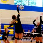 Volleyball Sweeps Norton
