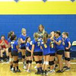 MS Volleyball Defeats Springfield