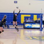 Mirka's Record Setting Day Lifts Volleyball to Win Over Lake