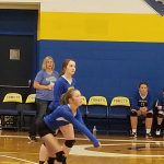 MS Volleyball Teams Sweep Cloverleaf