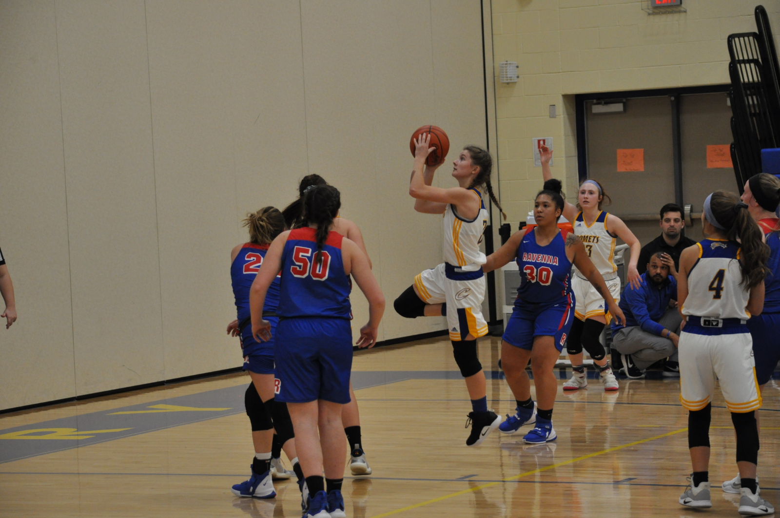Girls Basketball Defeated by Ravenna