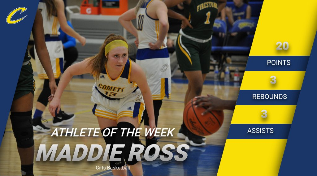 Maddie Ross Earns Athlete of the Week Honors