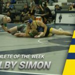 Colby Simon Earns Athlete of the Week Honors