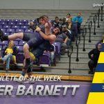 Kyler Barnett Earns Athlete of the Week Honors