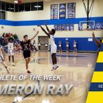 Cameron Ray Earns Athlete of the Week Honors