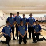 Bowling Teams Defeat Ellet on Senior Night