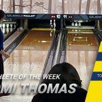 Naomi Thomas Earns Athlete of the Week Honors
