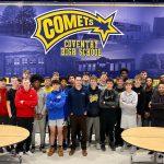 Boys Basketball Team Dinner Speaker Stresses Importance of Giving Back