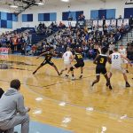 Boys Basketball Falls to Louisville in Sectional Final
