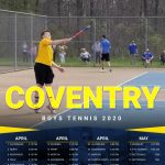 Varsity Boys Tennis Schedule 2020