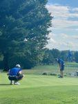 Golf Team Hands Cloverleaf First MAC Loss in One Stroke Victory