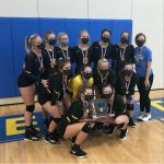 Volleyball Wins District Championship for First Time in School History