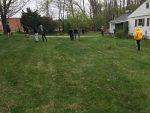 MS Boys Track Team Helps Neighboring Resident