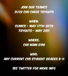 High School Cheerleading Tryout Information