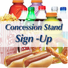 2019 Fall Concession Stand Volunteer Sign Up