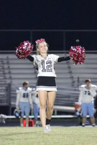 Homecoming Game Poms and Cheer