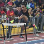 Boys Indoor Track - Ed Bowie Invitational