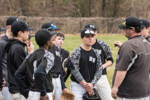 JV Baseball vs Einstein