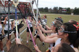 Girls JV Lacrosse 2019 vs QO