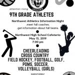 Middle School Night for Fall Sports