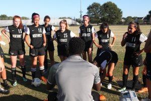 JV Girls Soccer vs Churchill