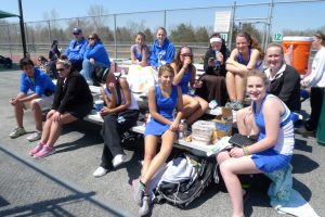 Varsity Girls Tennis @ Flushing tournament