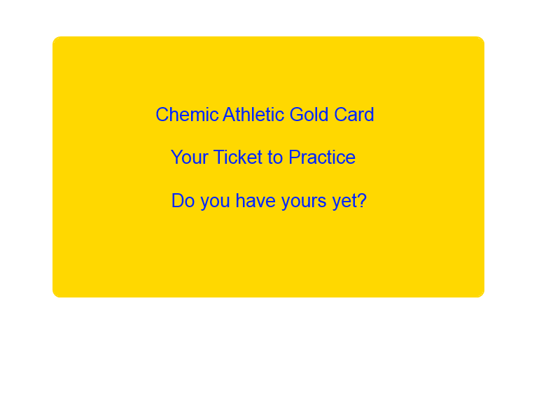 Winter Sports Practices to start on schedule – Get your gold card