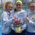 Arianna Hohner achieves tennis milestone