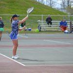 Varsity Girls Tennis vs Dow