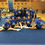Girls Junior Varsity Competitive Cheer finishes 1st place at Midland Invitational