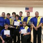 Boys Varsity Bowling finishes  at SVL Singles Tournament