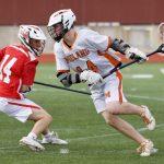 Boys Junior Varsity Lacrosse falls to St. Mary's Prepatory 8 – 7
