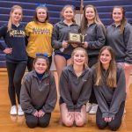 Girls Junior Varsity Competitive Cheer finishes 1st place at Heritage Cheer Invitational