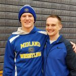 Sam Hine advances to state wrestling meet