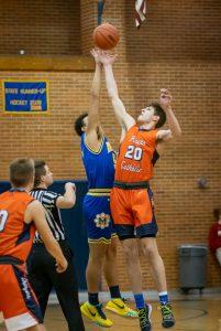Varsity Boys Basketball vs. Powers 2/19/19