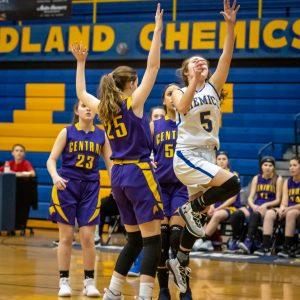 JV Girls Basketball vs Grand Blanc 2/26/19