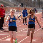 Girls Track vs Heritage 4/9/19
