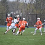 Midland Boys' JV Lacrosse Falls Short Against Hartland