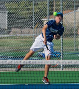 Varsity Boys Tennis @ John Glenn 9/5/19