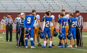 JV Football vs Mt. Pleasant 10/3/19