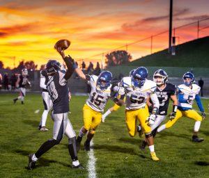 Varsity Football vs John Glenn 10/18/19