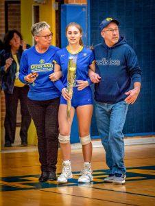 Varsity Volleyball Senior Night 10/22/19