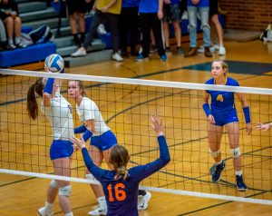 Varsity Volleyball vs Powers Catholic 10/29/19