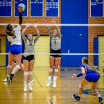 Varsity Volleyball vs Dow 11/6/19