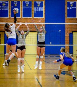 Varsity Volleyball vs Dow 11/6/19