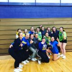 Girls Junior Varsity Competitive Cheer finishes 1st place at BCC Wolfpack Invitational