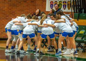 Varsity Girls Basketball vs HH Dow 1/31/20