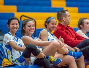 JV Girls Basketball vs Arthur Hill 2/7/20